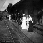 Danville Train Station in its heyday.